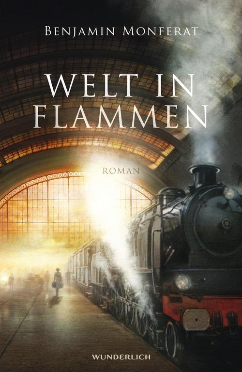 Welt in Flammen Benjamin Monferat Stephan M. Rother Cover