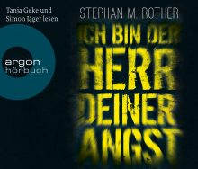 Ich bin der Herr deiner Angst Stephan M. Rother Hörbuch Cover