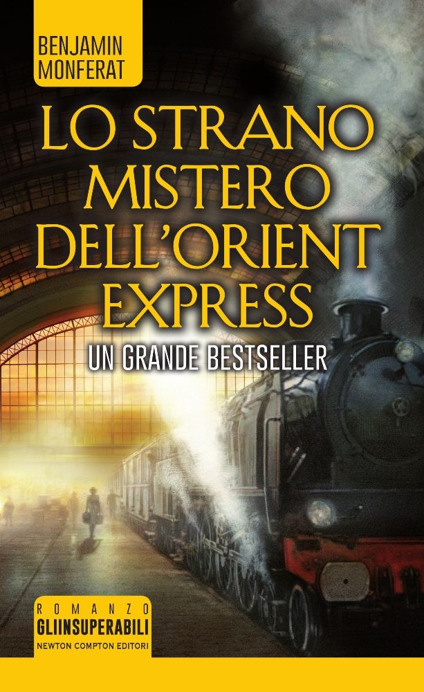 Welt in Flammen Lo Mistero dell' Orient Express Benjamin Monferat Stephan M. Rother Cover